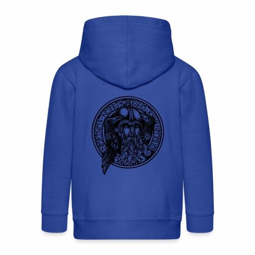 Odin &crows - Chaqueta con capucha premium niño