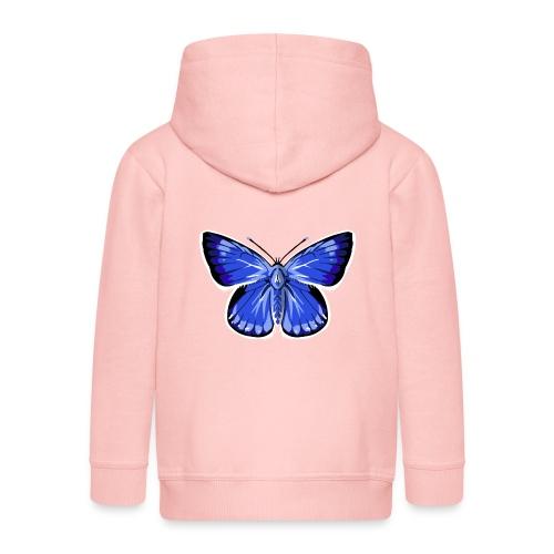 vlinder2_d - Kinderen Premium jas met capuchon