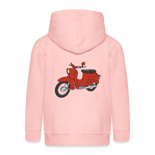 Jaskółka (Ibizarot) - Rozpinana bluza dziecięca z kapturem Premium