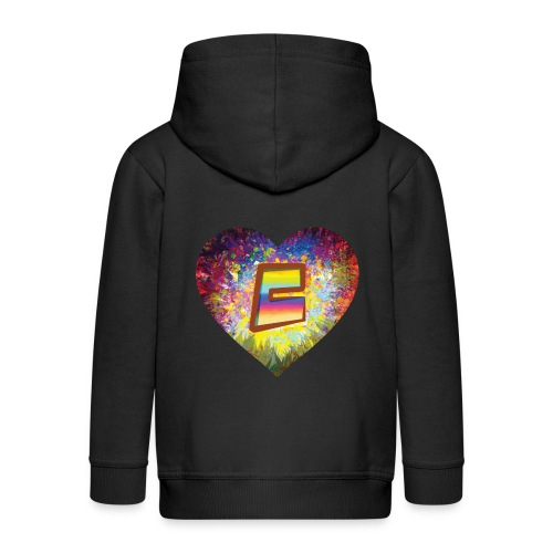 Be a 70th Heart with that special Popper Hippie B - Kids' Premium Zip Hoodie