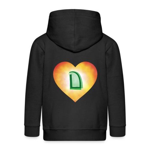 Dats Dramatic - Kids' Premium Zip Hoodie