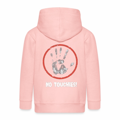 No Touchies 004 - Kids' Premium Hooded Jacket