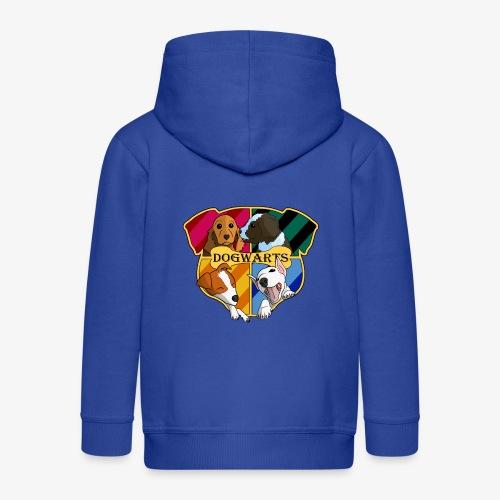 Dogwarts Logo - Kids' Premium Zip Hoodie