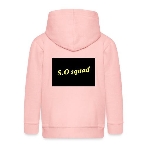 S.O squad - Veste à capuche Premium Enfant