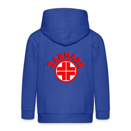 Denmark - Kids' Premium Zip Hoodie