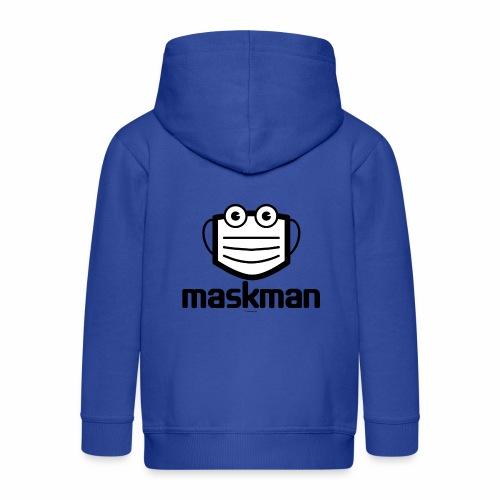 Maskman - Kinderen Premium jas met capuchon