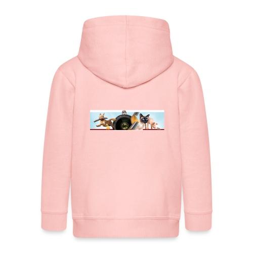 Animaux logo - Kinderen Premium jas met capuchon