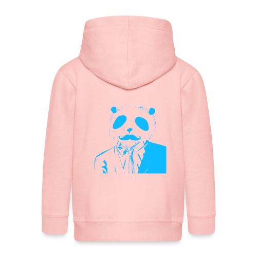 BluePanda Logo - Kids' Premium Zip Hoodie