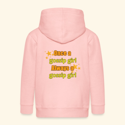 Gossip Girl Gossip Girl Shirts - Kids' Premium Zip Hoodie