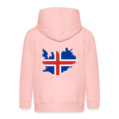 Iceland - Kinderen Premium jas met capuchon