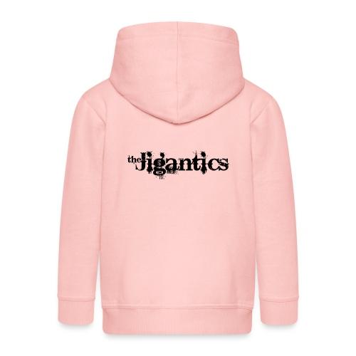 The Jigantics - black logo - Kids' Premium Zip Hoodie