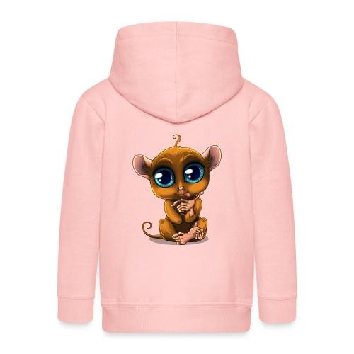Tarsier Monkey - Veste à capuche Premium Enfant