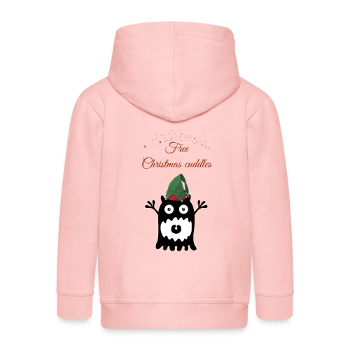 Calins de Noël - Christmas cuddels - Veste à capuche Premium Enfant