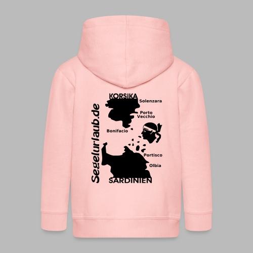 Korsika Sardinien Mori Shirt - Kinder Premium Kapuzenjacke