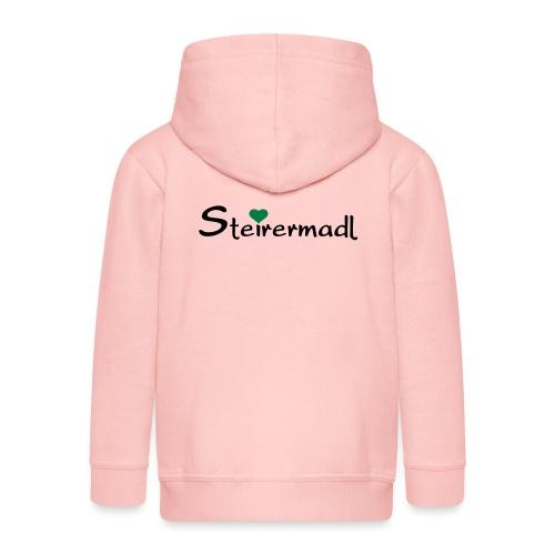 Steirermadl - Kinder Premium Kapuzenjacke
