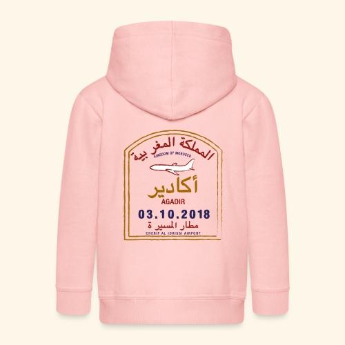 Agadir - Veste à capuche Premium Enfant