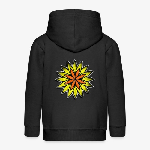 SOLRAC Sun - Chaqueta con capucha premium niño