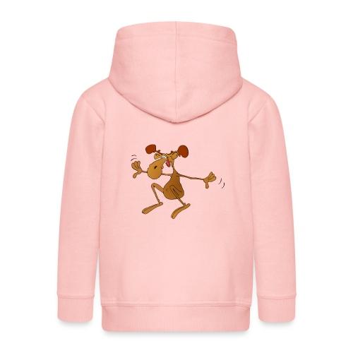 elch huepft - Kinder Premium Kapuzenjacke