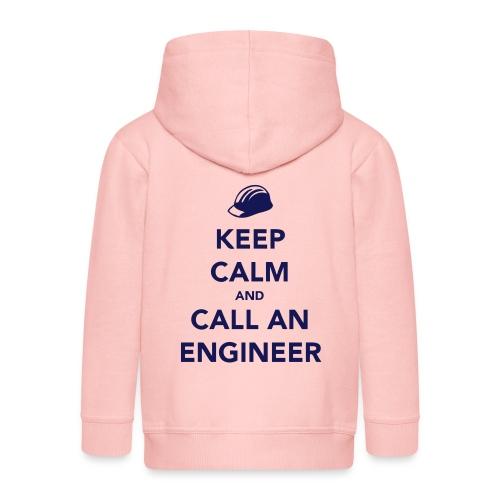 Keep Calm and Call an Engineer - Kids' Premium Hooded Jacket