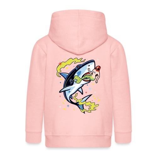 Requin mangeur de sirène - Veste à capuche Premium Enfant