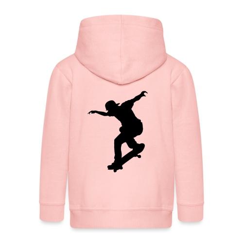 Skater - Felpa con zip Premium per bambini