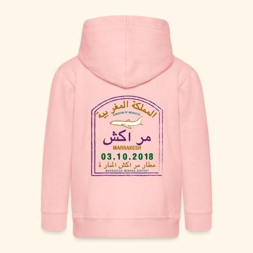 marrakeche - Veste à capuche Premium Enfant