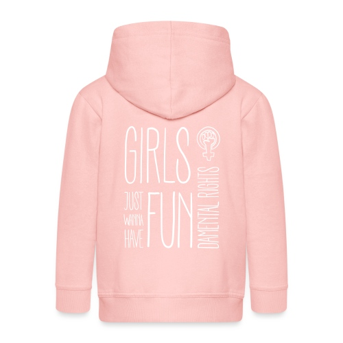 Girls just wanna have fundamental rights - Kinder Premium Kapuzenjacke