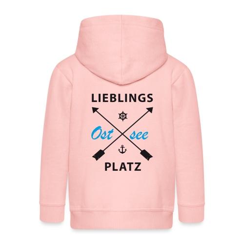 Lieblingsplatz Ostsee - Kinder Premium Kapuzenjacke