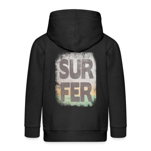 Surfer - Chaqueta con capucha premium niño