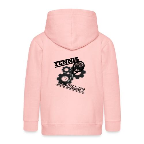 TENNIS WORKOUT - Kids' Premium Hooded Jacket