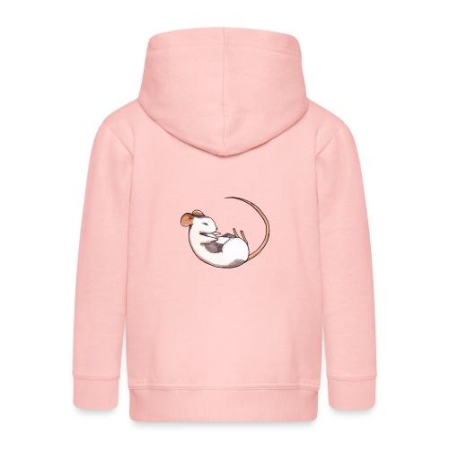 Sleeping mouse - Kids' Premium Zip Hoodie