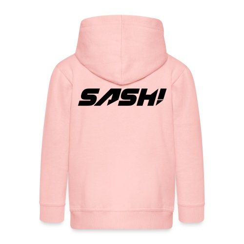 SASH! Filled Logo - Kids' Premium Hooded Jacket