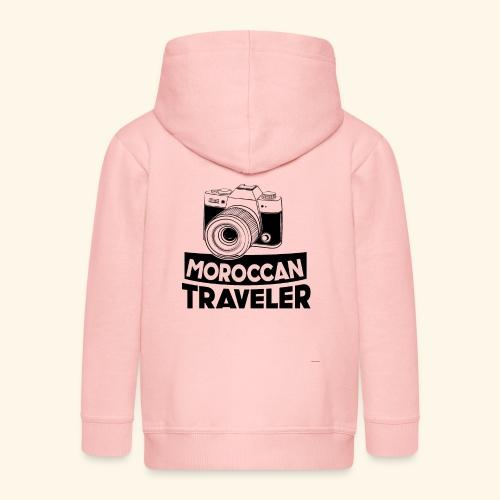 Moroccan Traveler - Veste à capuche Premium Enfant