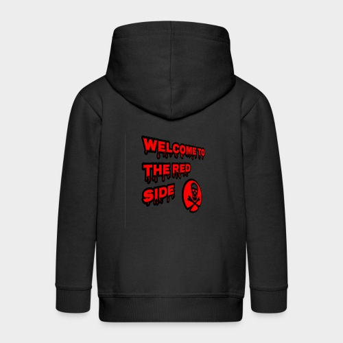 Welcome to the red side - Kids' Premium Zip Hoodie