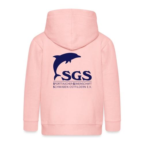 SGS Komplettlogo - Kinder Premium Kapuzenjacke