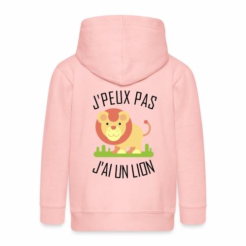 J'peux pas j'ai un Lion - Veste à capuche Premium Enfant