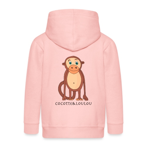 Bobo le singe - Veste à capuche Premium Enfant