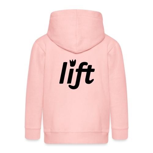 Tazza con logo Lift 2016 - Felpa con zip Premium per bambini