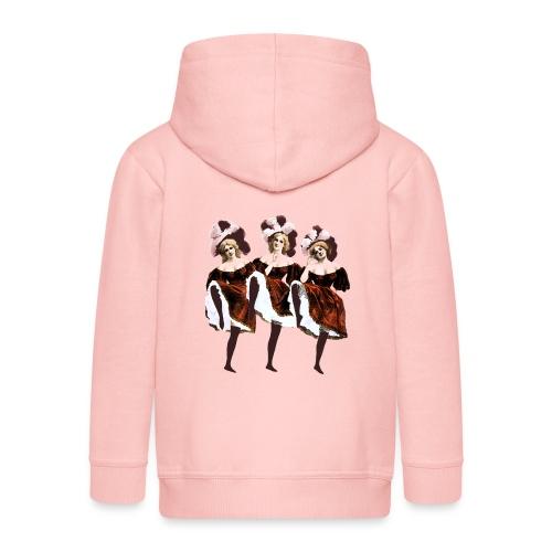 Vintage Dancers - Kids' Premium Hooded Jacket