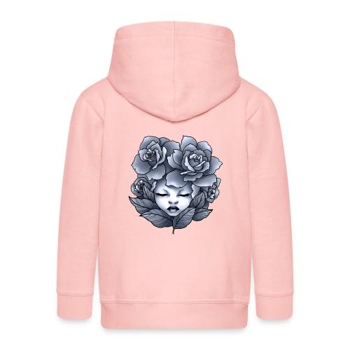 Flower Head - Veste à capuche Premium Enfant