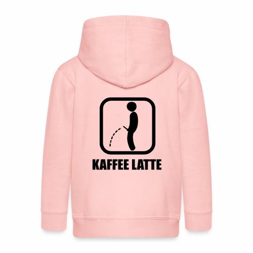 Kaffe Latte - Kinder Premium Kapuzenjacke