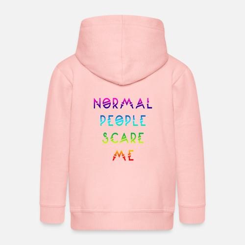 Normal People Scare Me - Kinderen Premium jas met capuchon