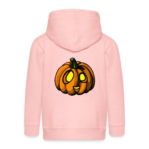 Pumpkin Halloween scribblesirii - Kinder Premium Kapuzenjacke