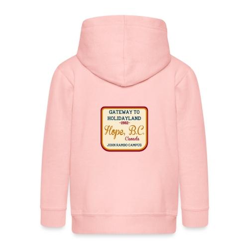 Rambo Hope Holidayland - Rozpinana bluza dziecięca z kapturem Premium