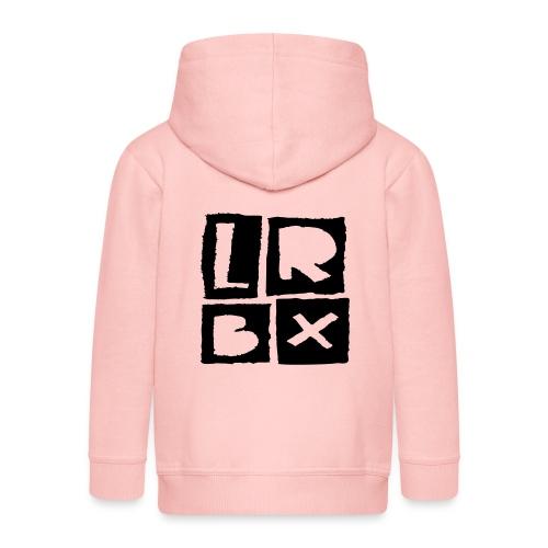 LRBX - La Roulette Bruxelles - Longboard - Veste à capuche Premium Enfant