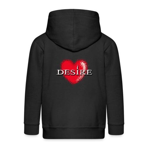 Desire Nightclub - Kids' Premium Zip Hoodie