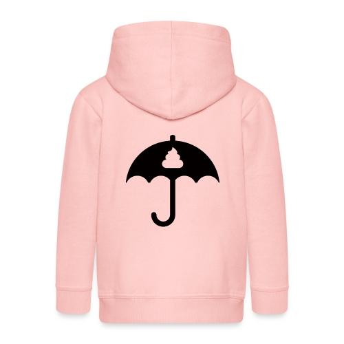 Shit icon Black png - Kids' Premium Hooded Jacket
