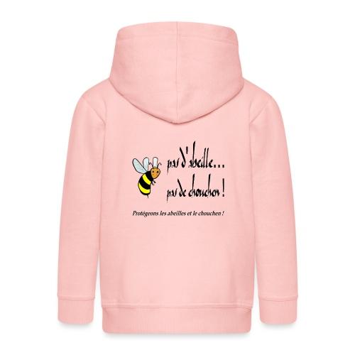 Pas d'abeille, pas de chouchen - Veste à capuche Premium Enfant