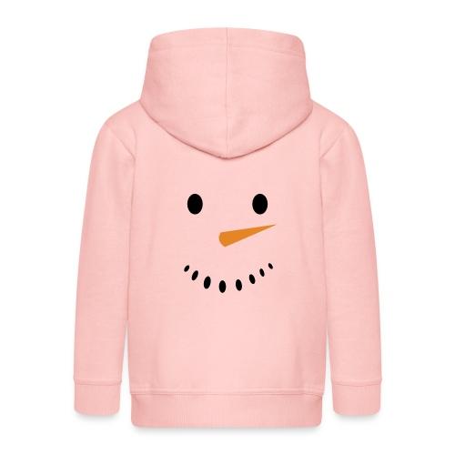 Bonhomme de neige Noël Hiver - Veste à capuche Premium Enfant