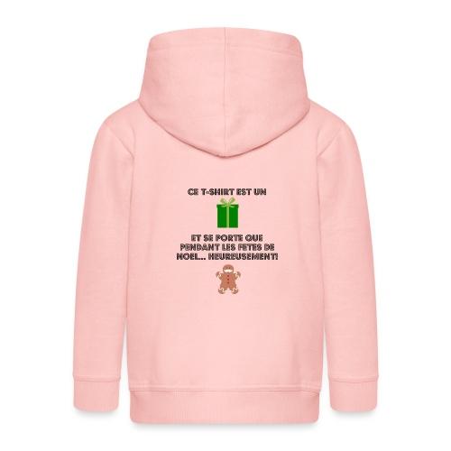 T-shirt cadeau de Noël - Veste à capuche Premium Enfant